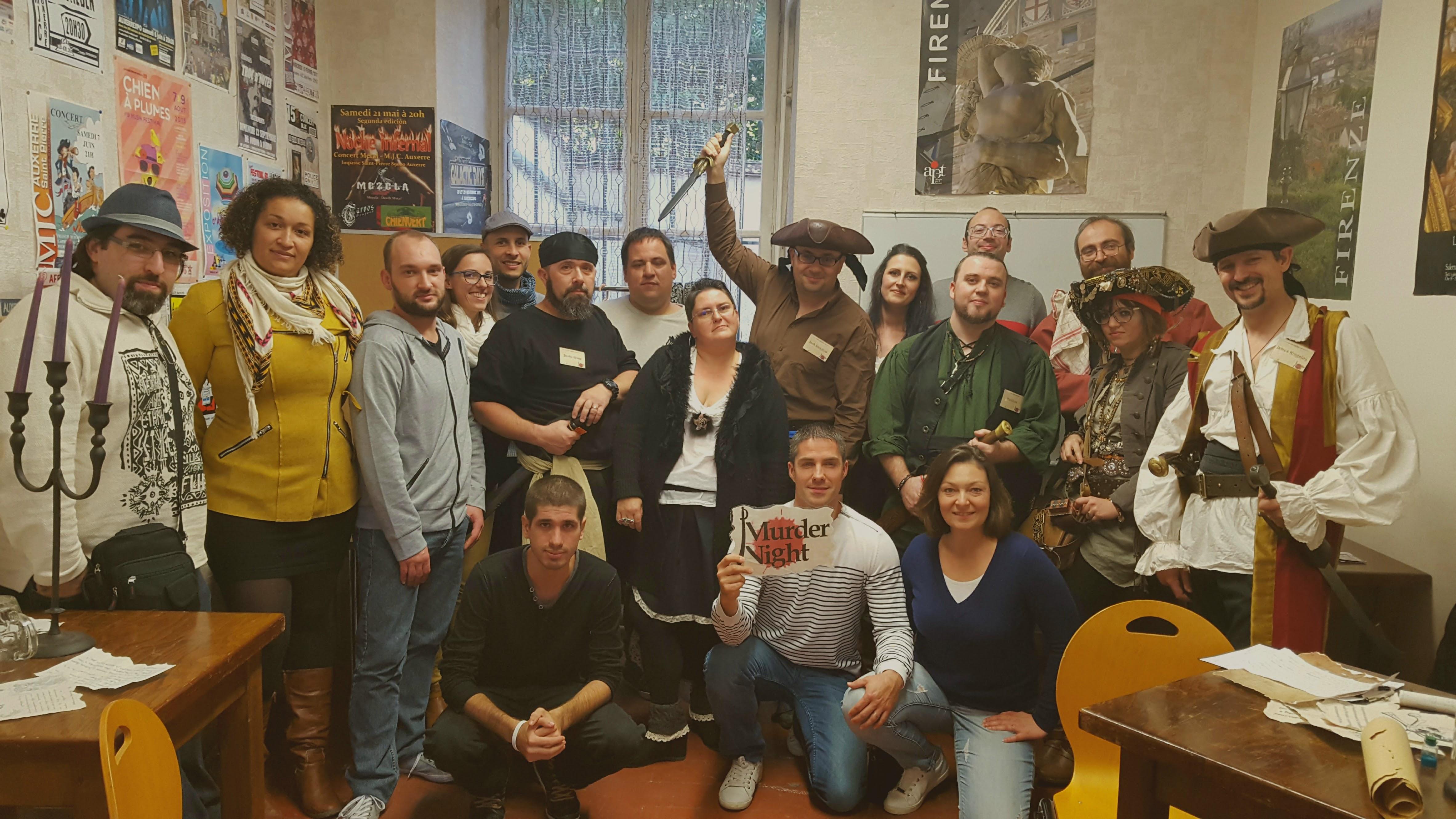 Murder party - 24h du jeu Auxerre