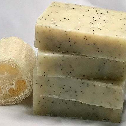 Poppyseed Frankincense Cleansing Bar