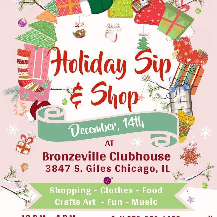 Get in the Spirit - Holiday Sip N Shop (Free Admission)
