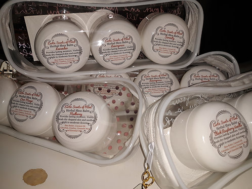 3pc Travel Herbal Shea Balm Gift Set