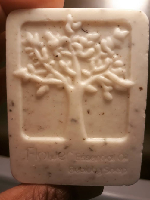 4.5oz. Peppermint Tea Tree Scrub Cleansing Bar