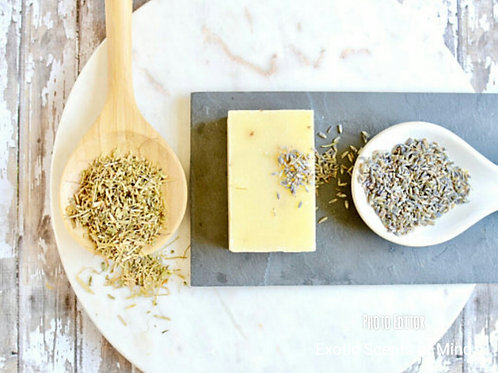 Lavender & Lemongrass Mango Butter Cleansing Bar