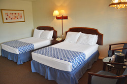 Two double beds, sleeps 4