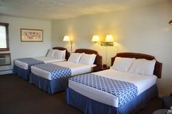 Three double beds, sleep 6