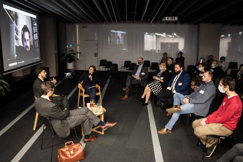 Cosmic Hub at Venture Cafe Warsaw Thursday Gathering