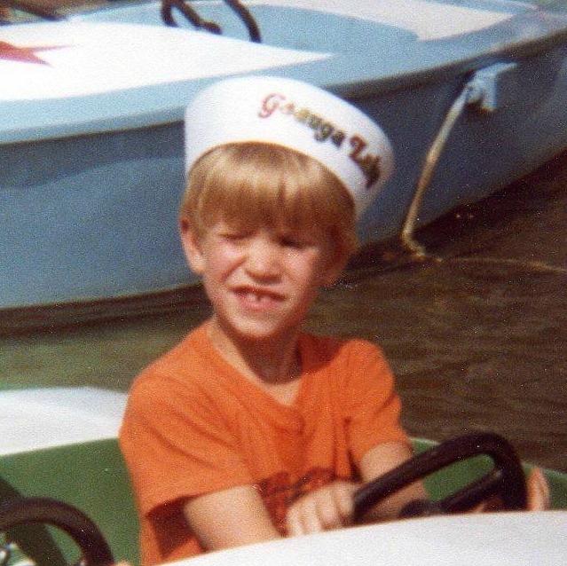 Pastor Mark (age 5)