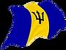 Barbados, 50th flag, barbados-flag.png