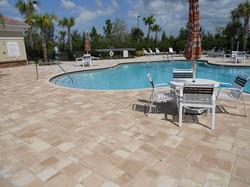commercial brick paver pool deck installations tampa, pasco, hernando, hillsborough