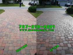 Paver Sealing using Seal N Lock