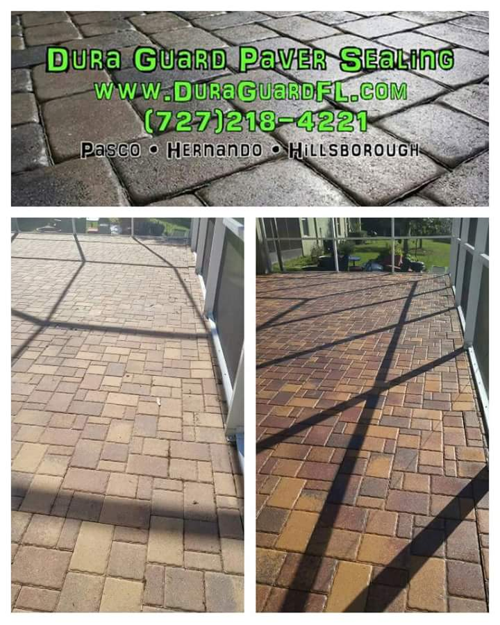 brick paver color enhancement