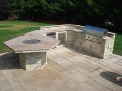 brick paver outdoor kitchen installations tampa, pasco, hernando, hillsborough 4