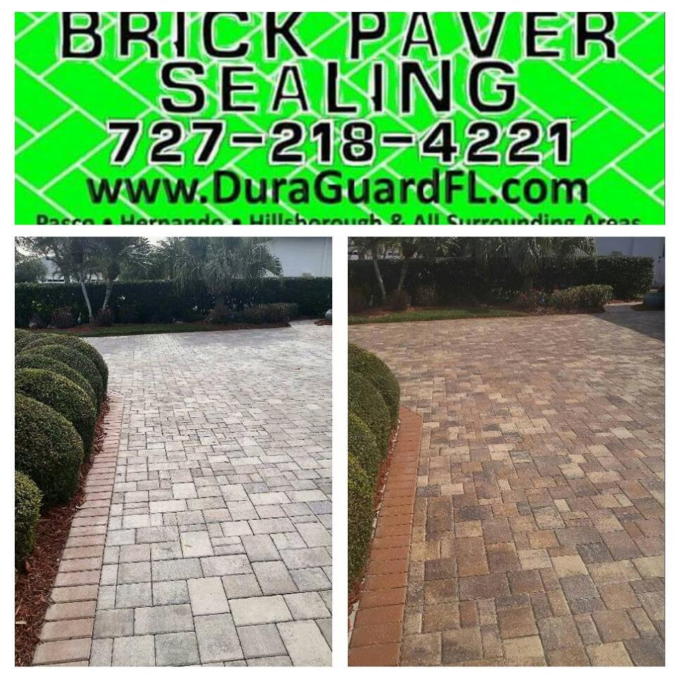 brick paver color enhancement permenant color tint 12