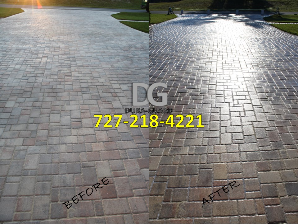 Paver Sealing experts  #1 rated company