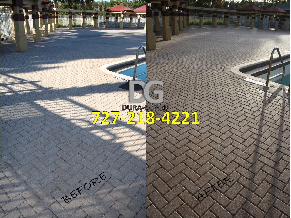 brick paver sealing