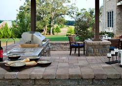 brick paver outdoor kitchen installations tampa, pasco, hernando, hillsborough 2