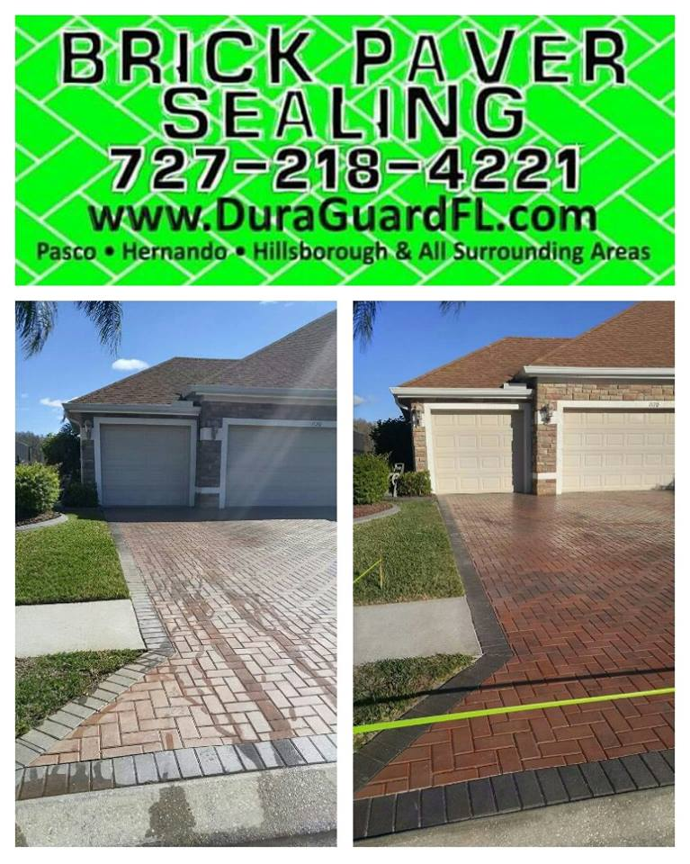 brick paver color enhancement using red paver tint 1