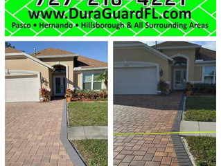 Pasco county brick paver sealing