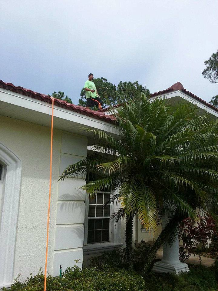 Tile roof sealer application process