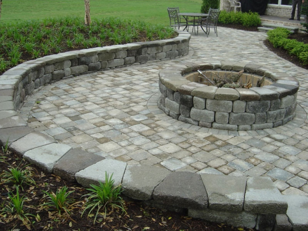 brick paver fire pit installations tampa, pasco, hernando, hillsborough 6