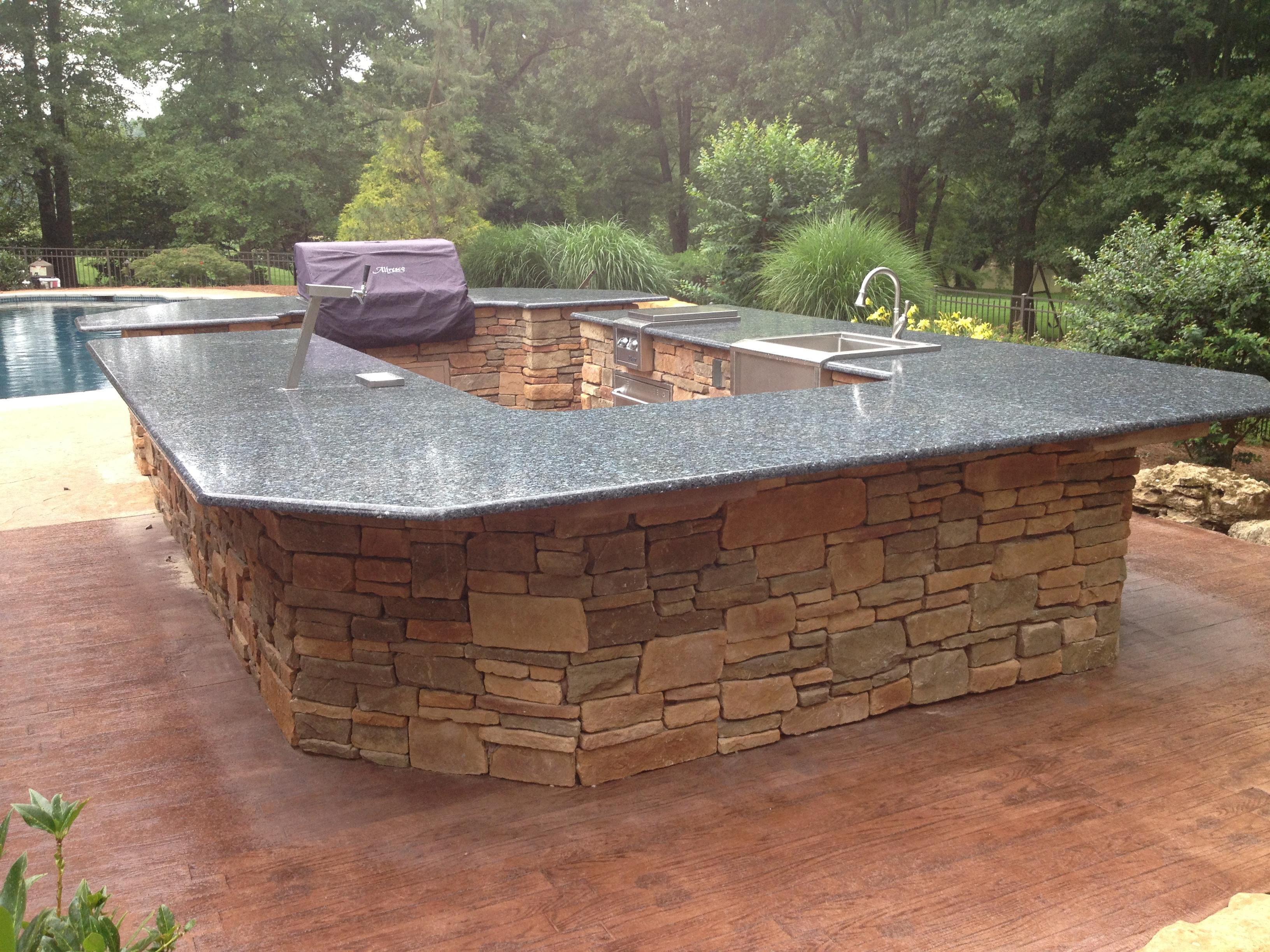 brick paver outdoor kitchen installations tampa, pasco, hernando, hillsborough 7