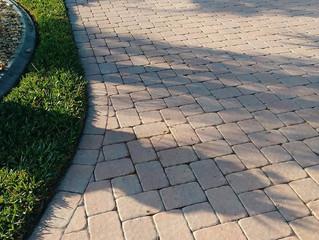 High gloss paver sealing