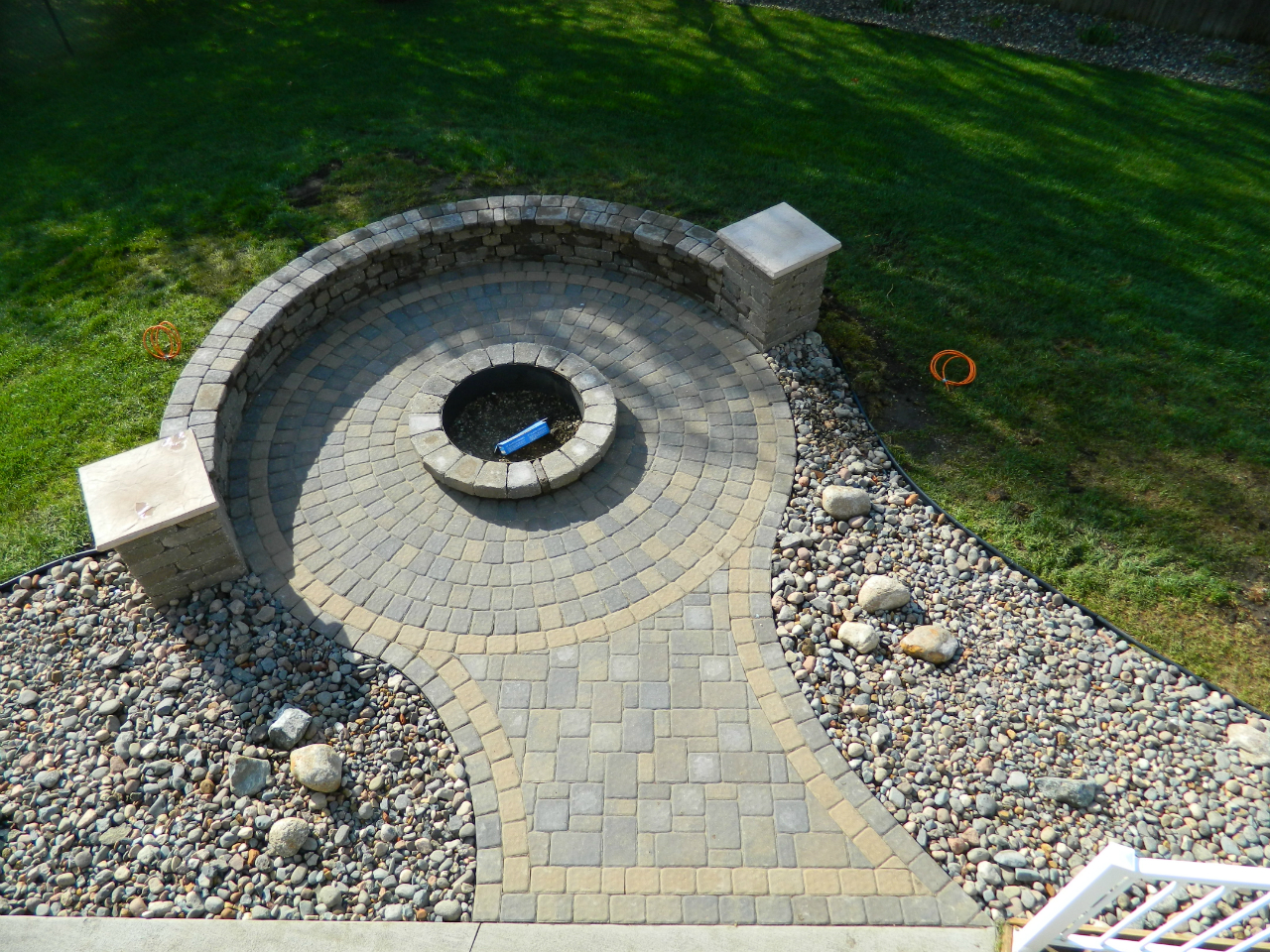 brick paver fire pit installations tampa, pasco, hernando, hillsborough 3