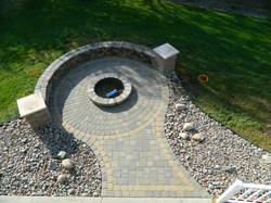 brick paver fire pit installations tampa, pasco, hernando, hillsborough 3
