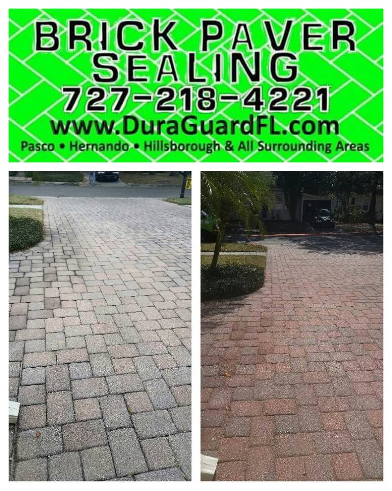 brick paver color enhancement permenant color tint 14