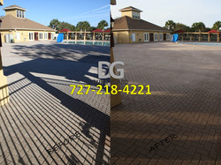 Commercial Brick Paver Sealing