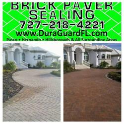 brick paver rust removal