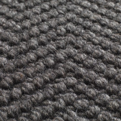 Natural Weave Herringbone Charcoal