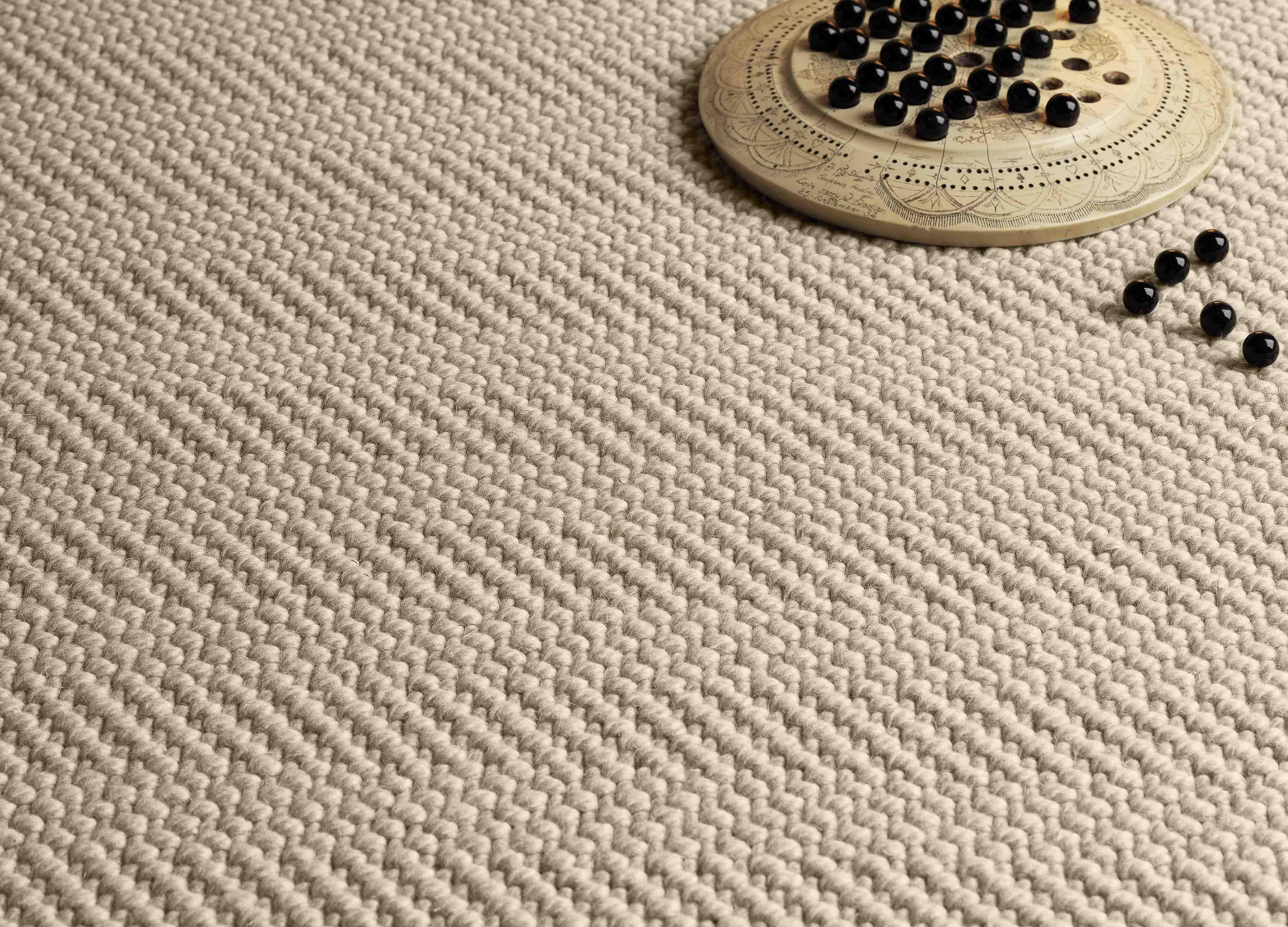 Natural Weave Herringbone Room