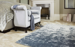 Simla Ivory & Simla Atlantic Blue Room