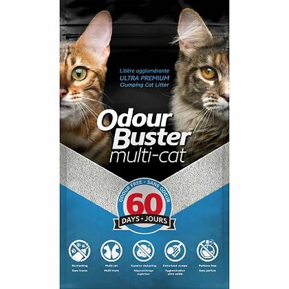 Odour buster multi cat , Cat litter12kg