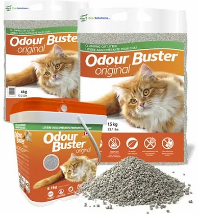 Odour buster original, Cat litter 9.1kg
