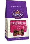 Old Mother Hubbard Grain Free Chicken Pot Pie Mini Dog Treat, 20-oz