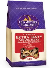 Old Mother Hubbard Classic Extra Tasty Assortment Biscuits Mini Baked Dog Treats