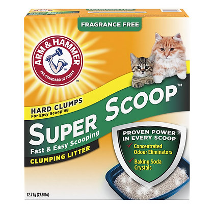Super scoop unscented, Cat litter 12.7kg