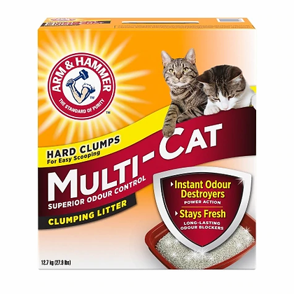 Multi cat , Cat litter 12.7kg
