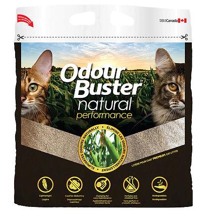 Odour buster natural corn, Cat litter 12kg