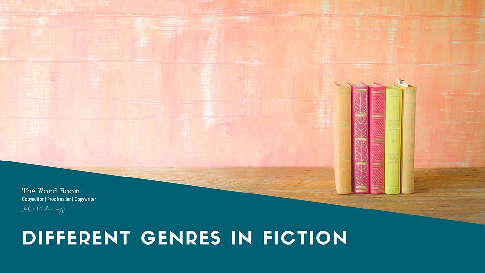 Different Genres in Fiction | Julie Pinborough