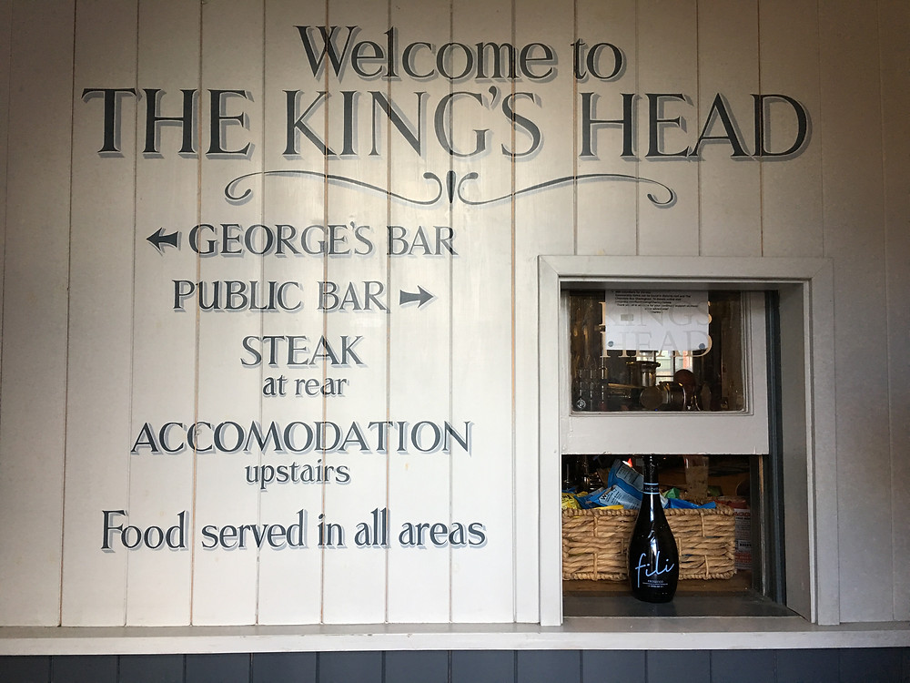 The Kings Head Entrance