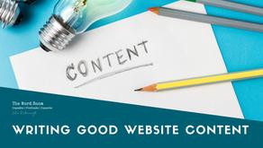 Writing Good Website Copy