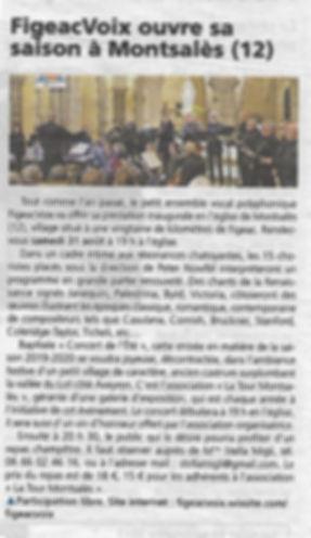 FigeacVoix ouvre sa saison à Montsalès