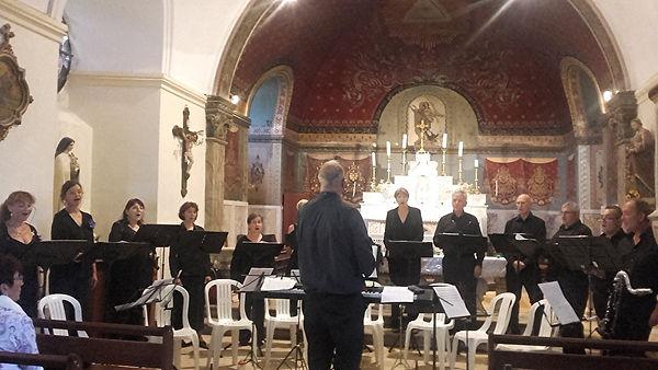 concert à Montsalès 2018
