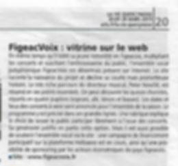 FigeacVoix : vitrine sur le web