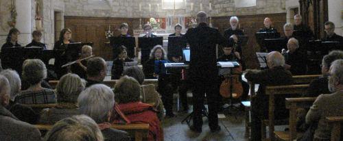Concert à Saint Jean de Laur