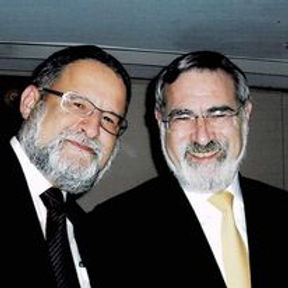 With the Late Rabbi Lord Sacks on his visit to Hong Kong in 2009