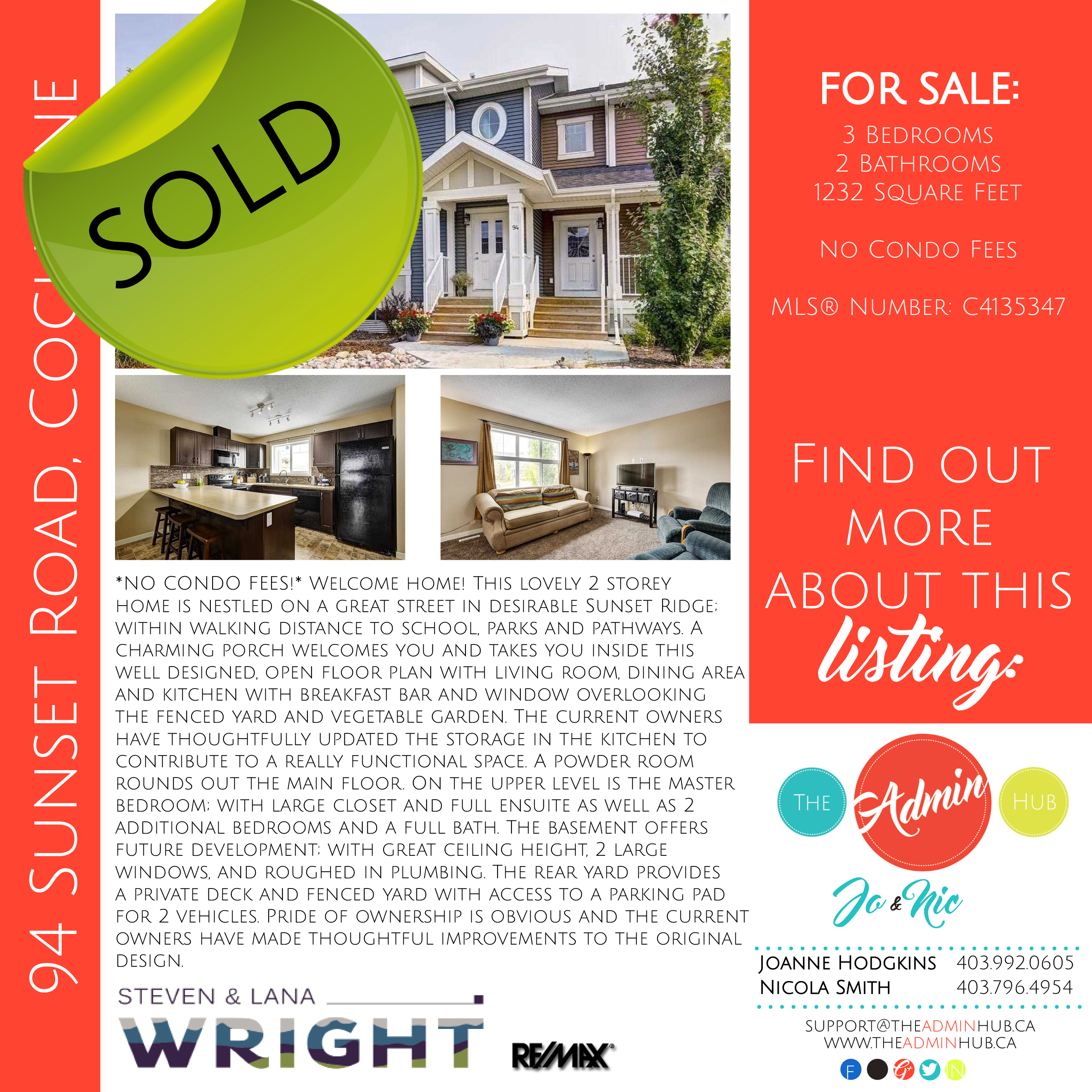 SOLD 94 Sunset Road