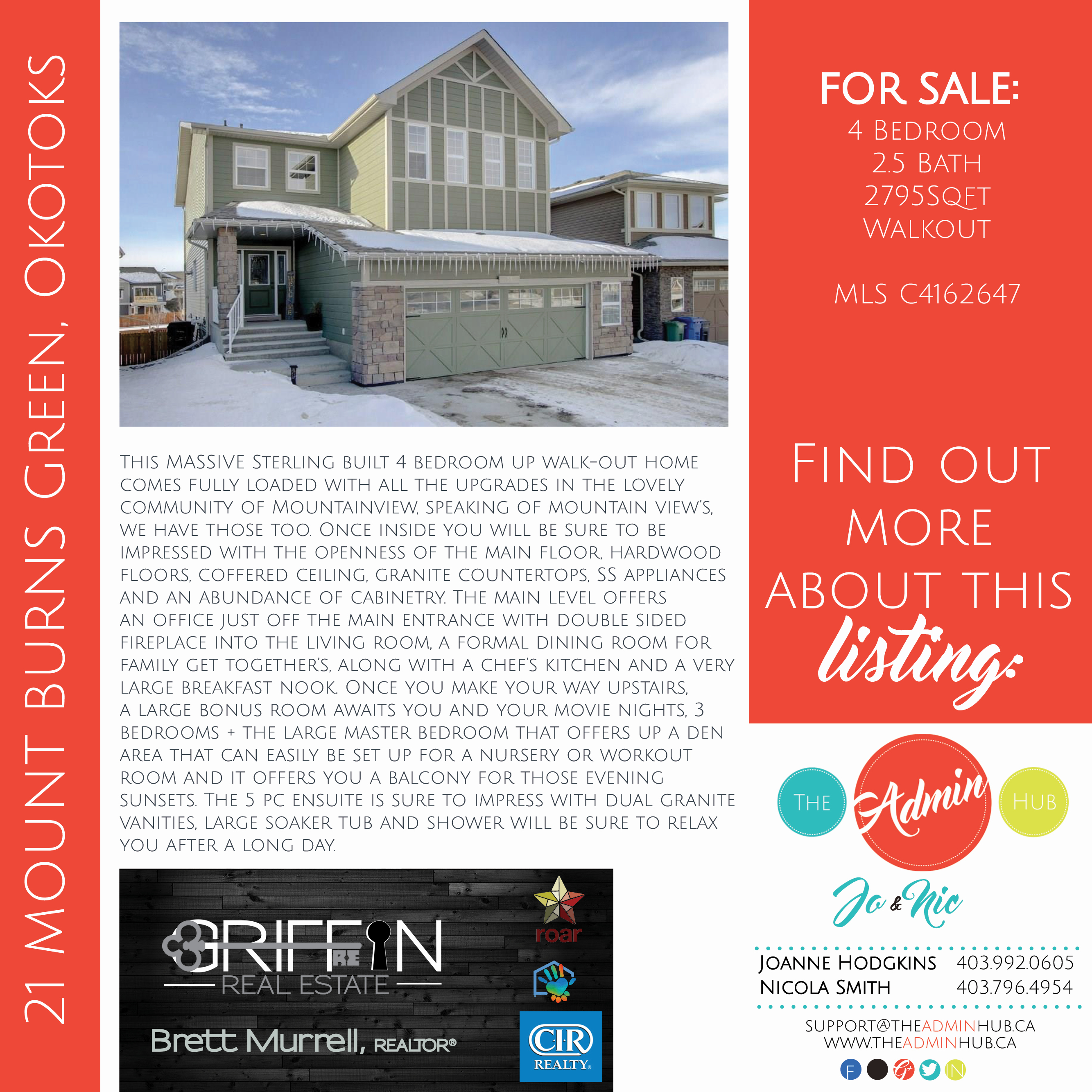 21 MOUNT BURNS GREEN, OKOTOKS